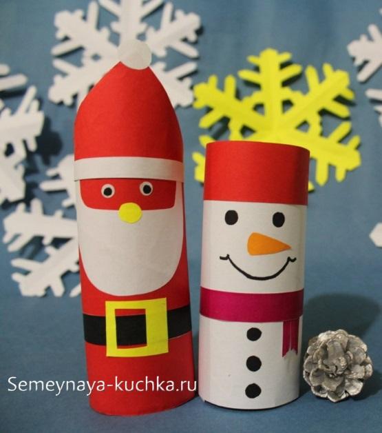 новогодний дед мороз