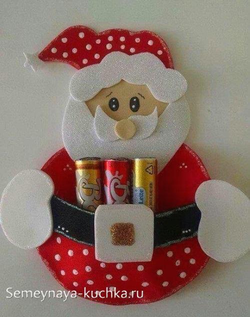 Дед Мороз новогодний подарок