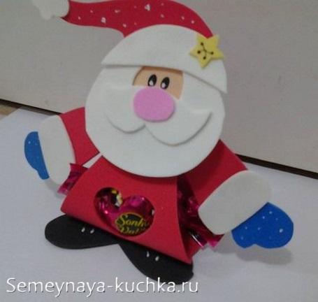 новогодний дед мороз своими руками