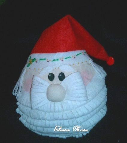 поделка новогодний дед мороз из воздушного шара