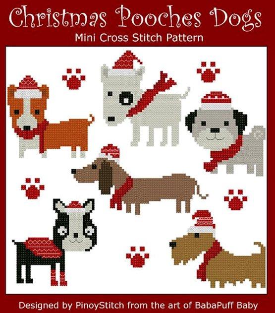 вышивка собаки для детей