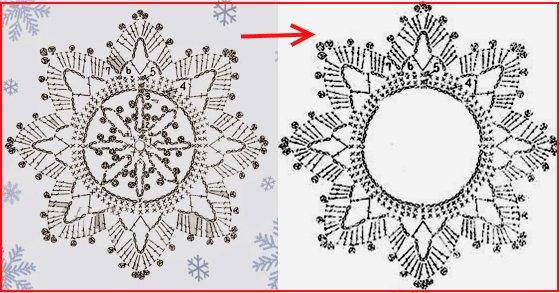 схема игрушки крючком новогодние