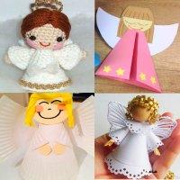поделка ангел своими руками
