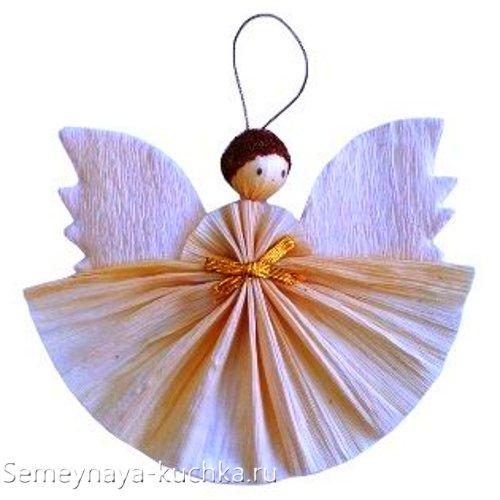 поделка ангел из природного материала