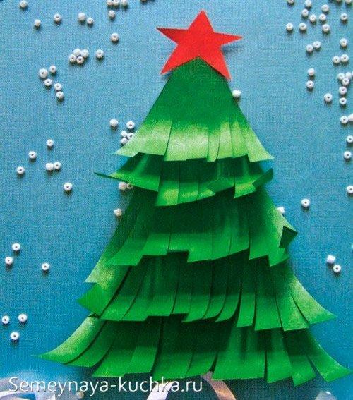 поделка для детского сада новогодняя