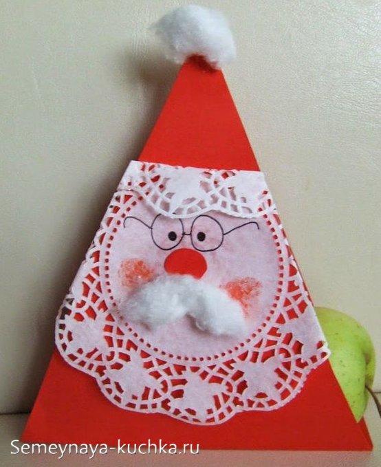 поделка новогодняя для детского сада