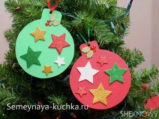 новогодние поделки для маленьких детей