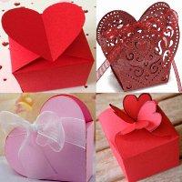 коробки с сердцем