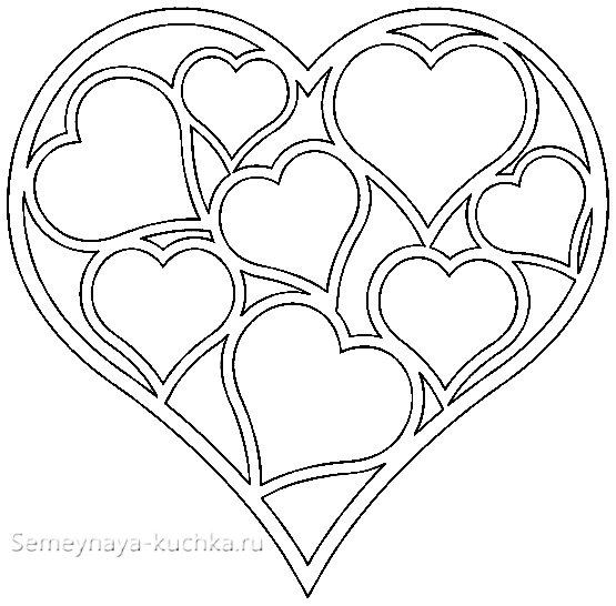 коробка сердечко своими руками