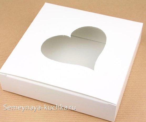 коробка валентинка своими руками