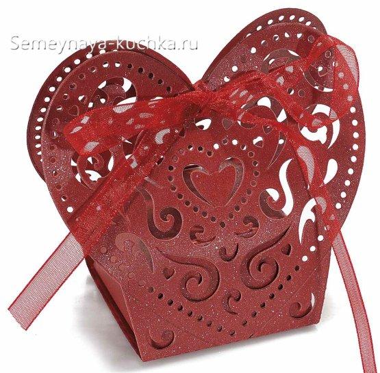 коробка в виде сердца своими руками