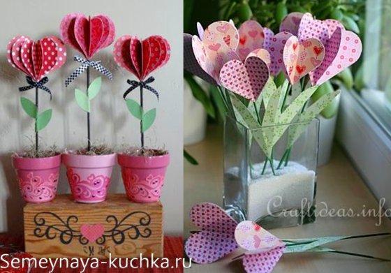 поделки на День Валентина