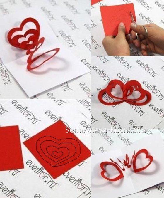 день святого валентина поделки для детей