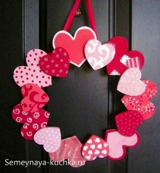 поделки на Валентинов День