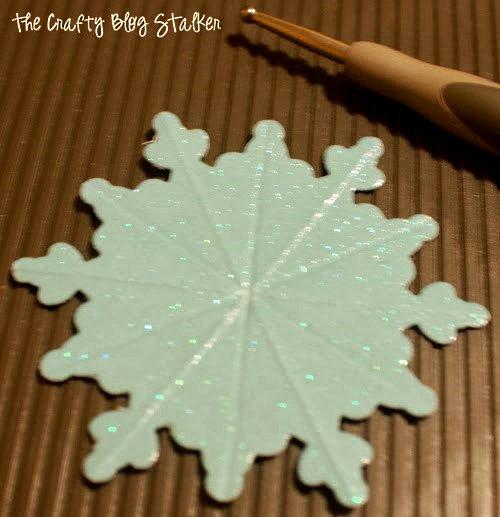 мастер-класс снежинка из картона объемная