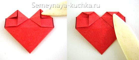 поэтапный урок валентинка сделать