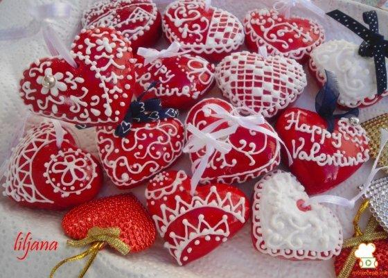 валентинки пряники своими руками