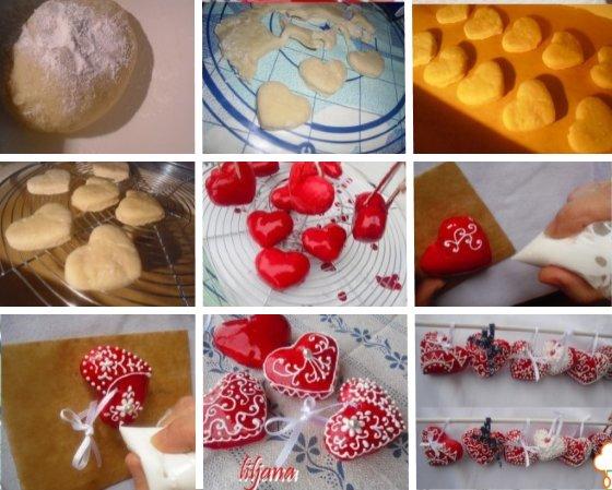 валентинки своими руками сладкие