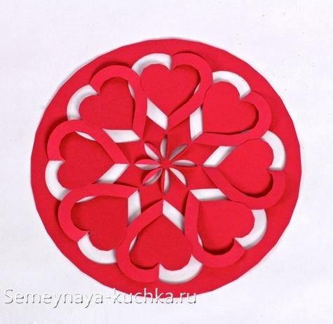 валентинки из бумаги вырезать красивые