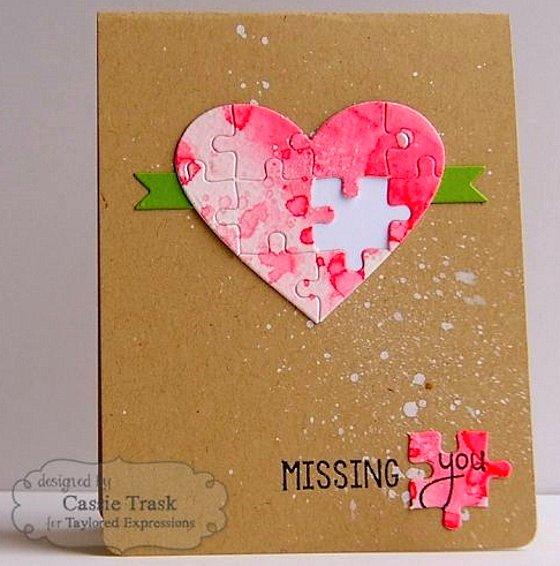 красивая открытка на Валентинов День