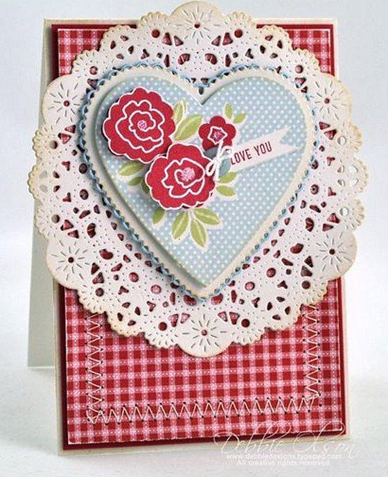 интересная открытка на Валентинов день
