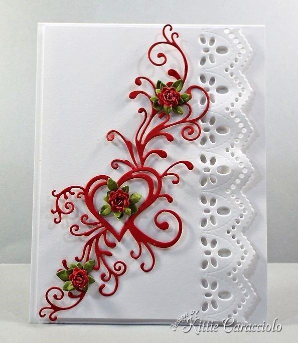 как сделать открытку на день Валентина