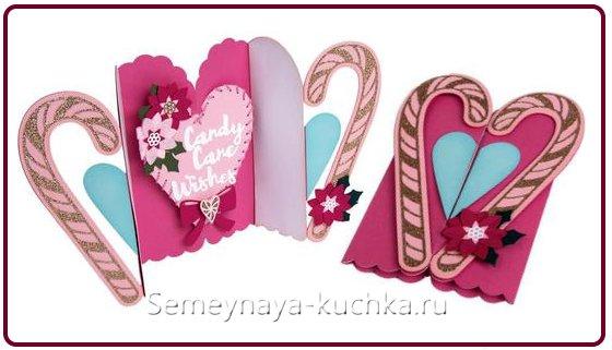 открытки на День Влюбленных ручной работы