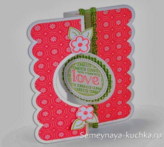 открытки ручной работы на День Влюбленных