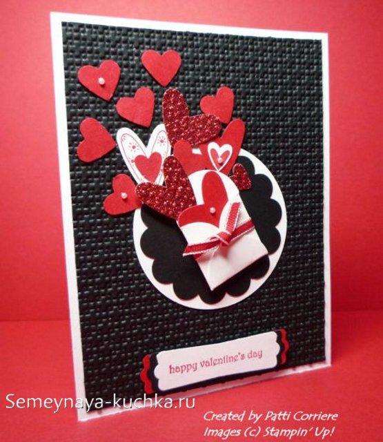 красивые объемные открытки на День Влюбленных