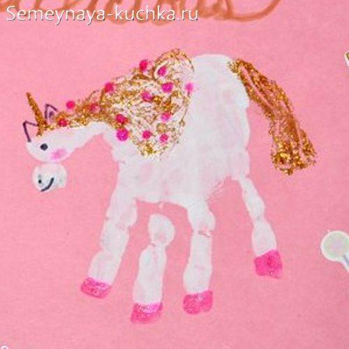 рисование для девочек пони единорог