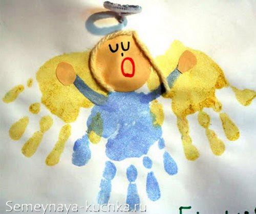 рисование ладошками занятие в детском саду