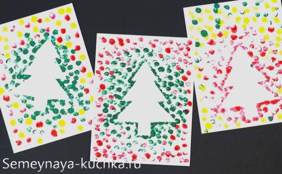 рисование пальчиками детям