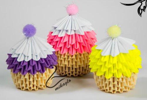 поделки из модульного оригами