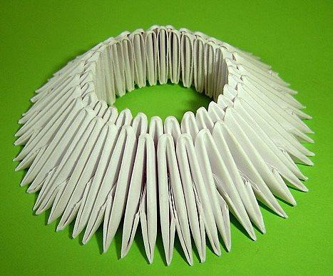 поделки из модульного оригами как собрать