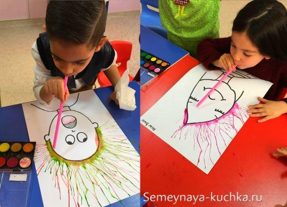 нетрадиционное рисование с детьми