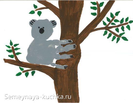 нетрадиционное рисование для малышей