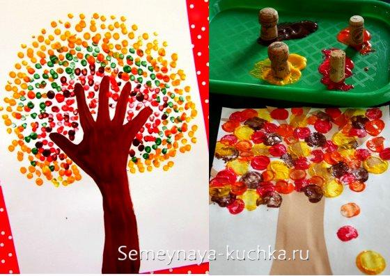 осенние поделки для детского садика