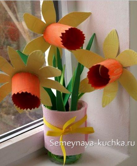 поделка цветы своими руками