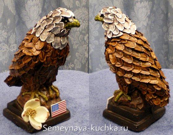 поделка орел для детского сада