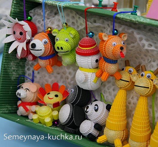 объемные поделки в детском саду