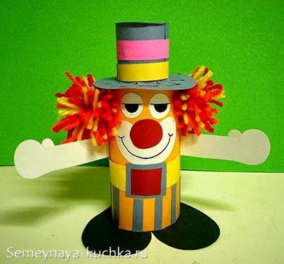 поделка клоун для детского сада
