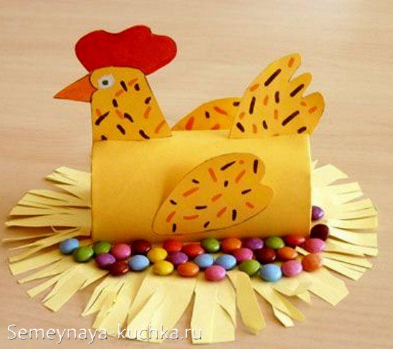 поделка курица для детского сада