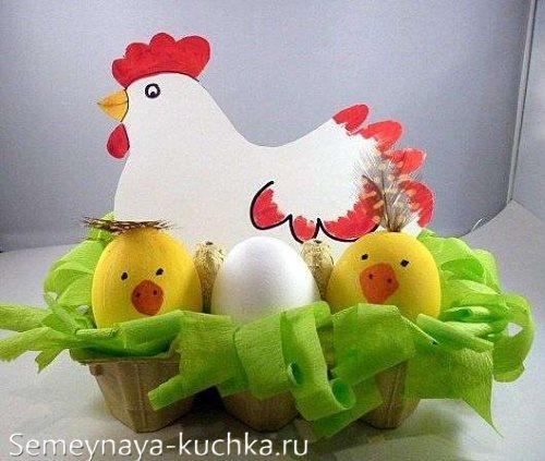 поделка курица своими руками