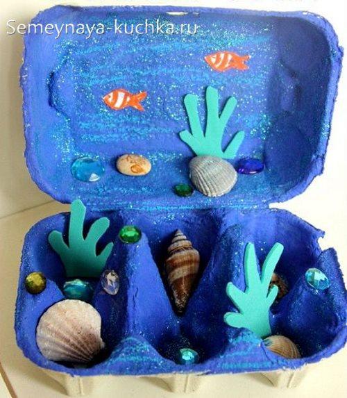 поделка море для детского сада