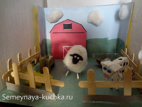 поделка домашние животные для детского сада