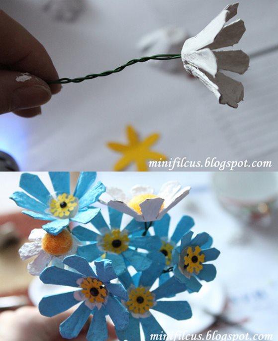 мастер-класс цветы для детского сада