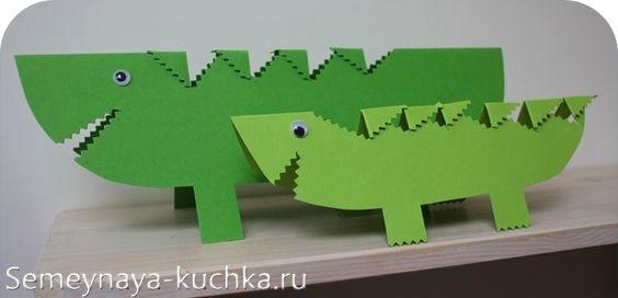 поделки для мальчиков динозавр