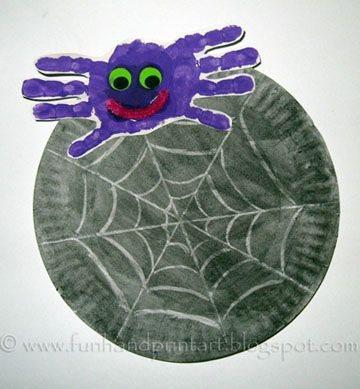 поделка паук для мальчиков