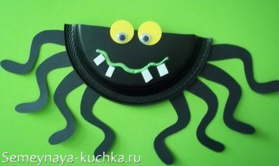 для мальчиков поделка паук