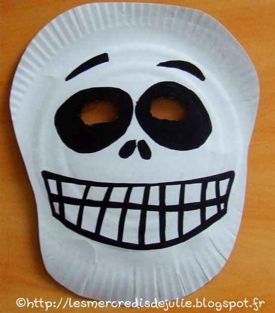 поделка череп маска для мальчиков